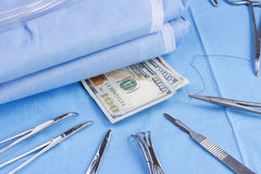 Costes quirúrgicos Imagenes de archivo