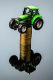 Costi crescenti nell'agricoltura Immagini Stock