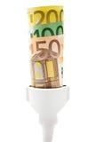 Costi dell'alta energia Fotografia Stock