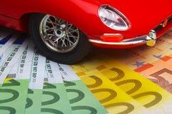 Costi dell'automobile Immagine Stock