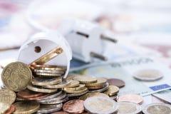 Costi di Enery Fotografie Stock Libere da Diritti