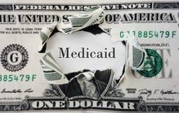 Costi di Medicaid fotografie stock