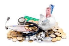 Costi di sanità Fotografia Stock Libera da Diritti