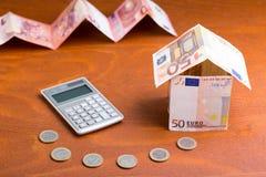 Costi di un padrone di casa Fotografie Stock