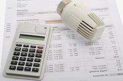 Costi energetici Fotografie Stock Libere da Diritti