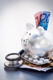 Costi europei di sanità Immagine Stock Libera da Diritti