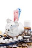 Costi europei di sanità Immagini Stock