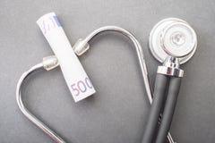 Costi medici Fotografia Stock Libera da Diritti
