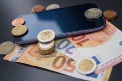 Costi mobili fotografie stock libere da diritti