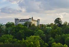 Costigliole城堡  库存图片