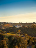 Costigliole d'Asti (Piedmont, Italy). Landscape Royalty Free Stock Photography