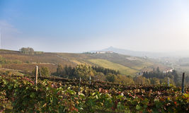 Costigliole d'Asti (Piedmont, Italy): landscape Stock Images