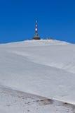 Costila peak in winter, Bucegi Mountains, Romania Royalty Free Stock Photos
