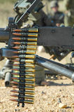 Costilla de la munición Fotografía de archivo libre de regalías