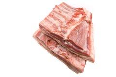 Costillas de cerdo. Fotos de archivo libres de regalías