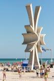 Costinesti-Obelisk Stockfoto