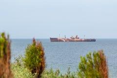 Costinesti skeppsbrott Royaltyfri Fotografi