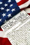 Costituzione Immagine Stock