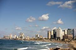 Costline di Tel Aviv Fotografia Stock
