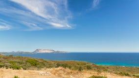 Costline in Sardinige Stock Fotografie