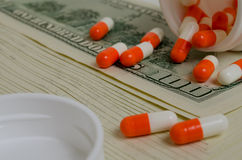 Costly medicines. Royalty Free Stock Photography