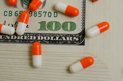 Costly medicines. Stock Photography