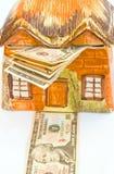 Costo crescente della proprietà. Fotografia Stock