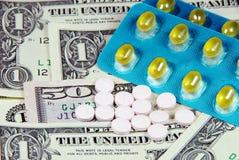 Costo de la medicina. Fotografía de archivo