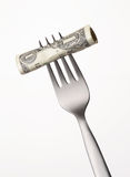 Costo dei soldi. Immagine Stock Libera da Diritti