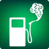 Costo del carburante Fotografie Stock Libere da Diritti