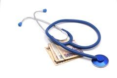 Costo del farmaco Fotografia Stock