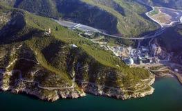 Costo del mare della Spagna Fotografia Stock Libera da Diritti
