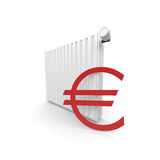Costo del radiatore Fotografia Stock Libera da Diritti