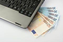 Costo di calcolatore Fotografia Stock