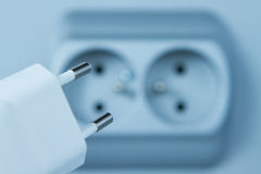 Costo di elettricità Fotografia Stock Libera da Diritti