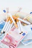 Costo di fumo Immagine Stock