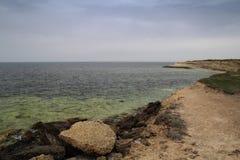 Costo di Mar Nero Fotografie Stock