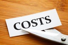 Costo di taglio immagine stock