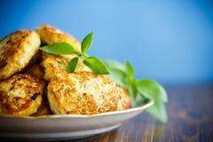 Costoletas do frango frito Imagens de Stock