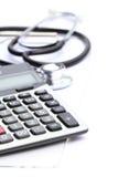 Costos médicos fotografía de archivo libre de regalías