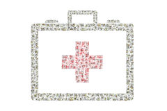 Costos médicos Foto de archivo libre de regalías