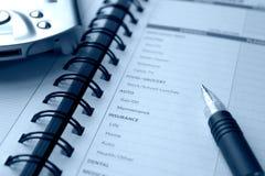 Costos personales de planificación Imagenes de archivo