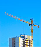 Costruction of apartment. Royalty Free Stock Photo