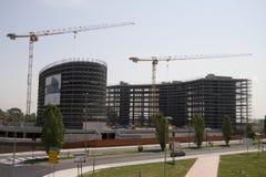 Costruction d'un bâtiment 3 Photos libres de droits