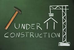 Costruction Site Royalty Free Stock Photo