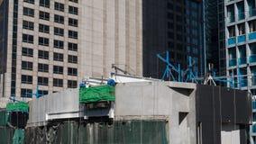 Costruito sull'alto pavimento Fotografia Stock Libera da Diritti