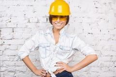 Costruttore Girl Immagini Stock Libere da Diritti