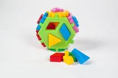 Costruttore per i bambini in età prescolare Fotografie Stock