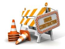 In costruzione! illustrazione di stock