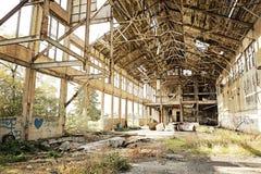 Costruzione abbandonata Fotografie Stock